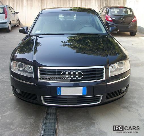 2003 Audi A8 3.7 V8 Quattro Tiptronic
