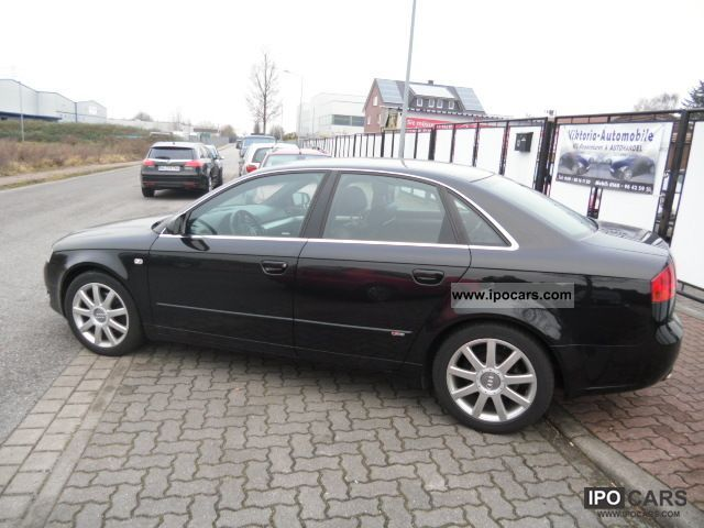 2007 audi a4 1 9 tdi s line car photo and specs. Black Bedroom Furniture Sets. Home Design Ideas