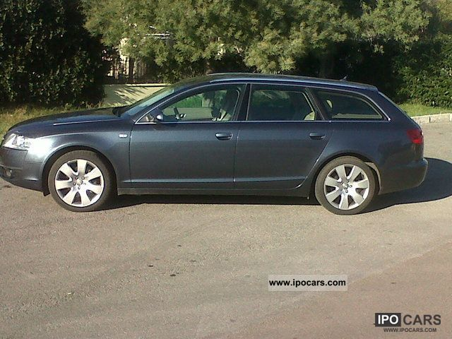 2006 audi a6 avant quattro 7 2 car photo and specs. Black Bedroom Furniture Sets. Home Design Ideas