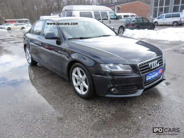 2008 audi a4 2 0 tdi pd ambiente car photo and specs. Black Bedroom Furniture Sets. Home Design Ideas