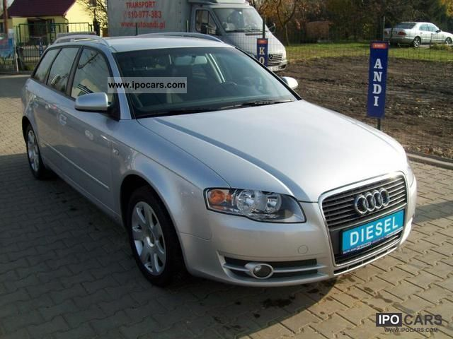 2007 Audi  A4 SERWISOWANY NAVI Z Estate Car Used vehicle photo
