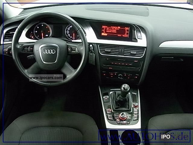 2009 Audi A4 Avant 20 Tdi Navi Cruise Car Photo And Specs