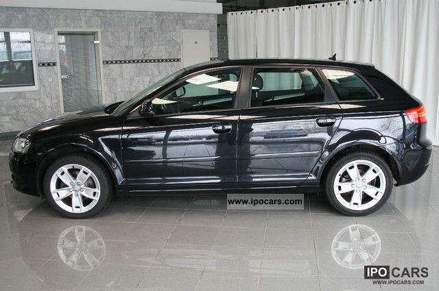 2008 audi a3 sportback 1 9 tdi ambition facelift navi xenon car photo and specs. Black Bedroom Furniture Sets. Home Design Ideas