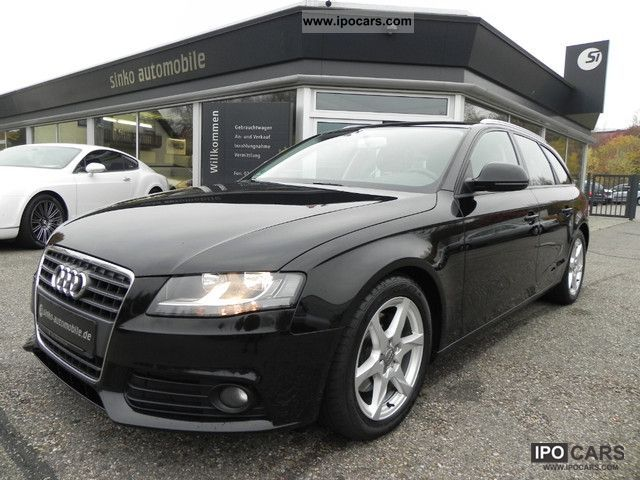 2009 audi a4 avant 2 0 tdi related infomation. Black Bedroom Furniture Sets. Home Design Ideas