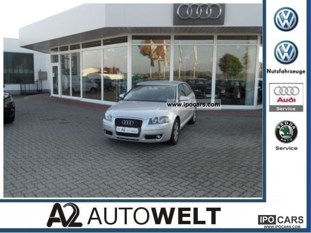 2007 Audi  A3 1.9 TDI Ambiente Standhzg. / S.tronic / Air Limousine Used vehicle photo