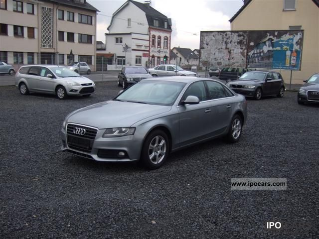 2008 Audi  A4 2.0 TDI Leather, Navi. TOP CONDITION Limousine Used vehicle photo