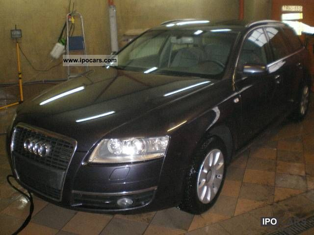 2008 Audi  A6 diesel AUTOMATIC XENON + Estate Car Used vehicle photo