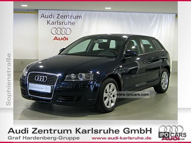 2006 Audi  A3 Sportback 1.6 xenon atmosphere (air) Limousine Used vehicle photo