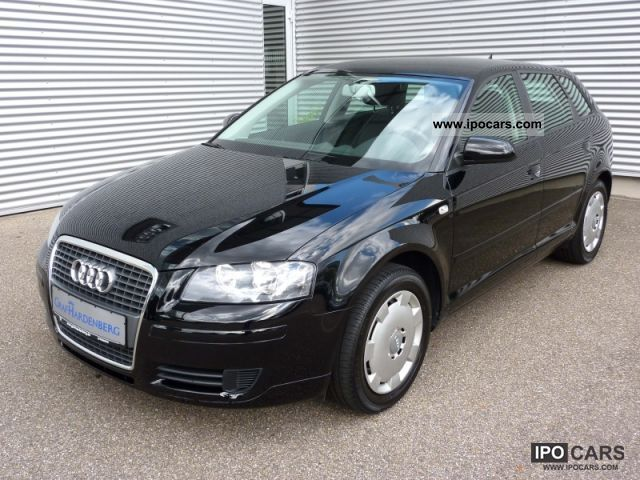 2008 audi a3 sportback 1 9 tdi klima car photo and specs. Black Bedroom Furniture Sets. Home Design Ideas