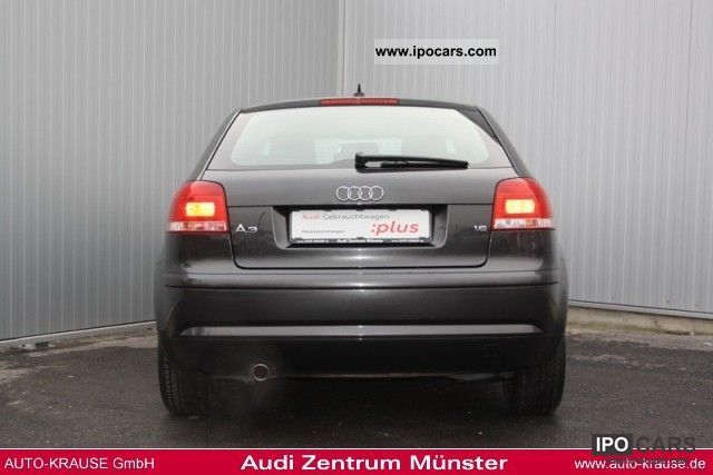 2008 audi a3 attraction 1 6 75 102 kw ps 5 speed car. Black Bedroom Furniture Sets. Home Design Ideas