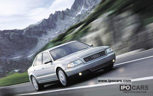 2002 Audi  S8 4.2 quattro S-Line, full equipment Limousine Used vehicle photo