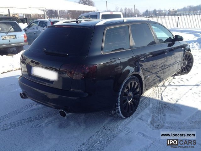 2006 audi a4 2 7 v6 tdi f ap avant s line car photo and. Black Bedroom Furniture Sets. Home Design Ideas
