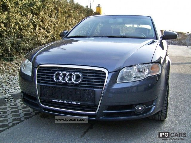 2007 audi a4 2 7 v6 tdi dpf car photo and specs. Black Bedroom Furniture Sets. Home Design Ideas