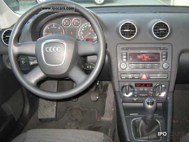 2008 Audi A3 Sportback 19 Tdi  Car Photo and Specs