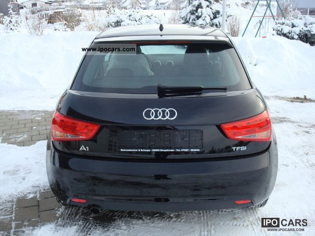 2011 audi a1 1 2 tfsi attraction car photo and specs. Black Bedroom Furniture Sets. Home Design Ideas