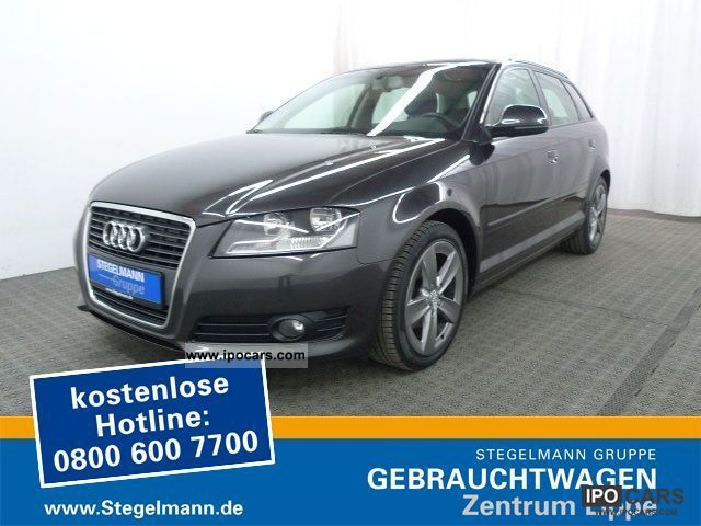 2009 audi a3 sportback 2 0 tdi ambition navi car photo and specs. Black Bedroom Furniture Sets. Home Design Ideas