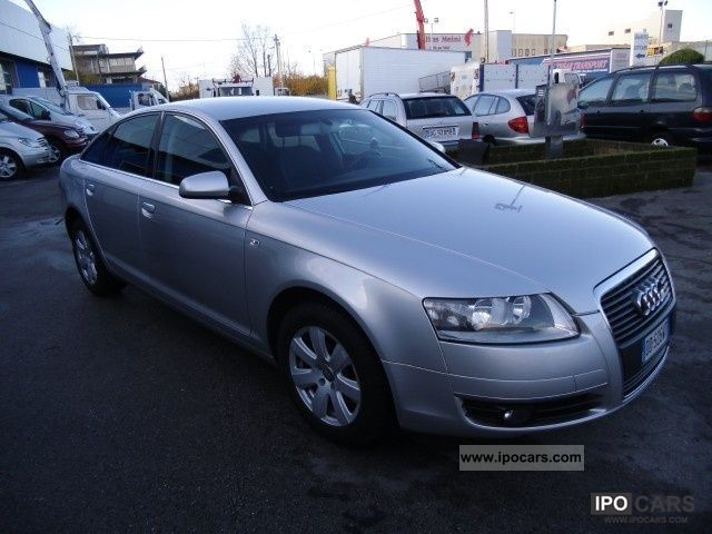 2006 Audi A6 2 0 16v Tdi 140 Cv Car Photo And Specs