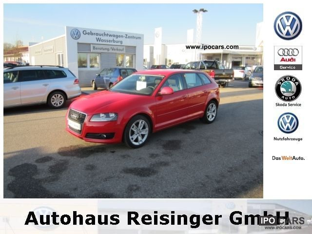 2009 audi a3 sportback 2 0 tdi ambition facelift car photo and specs. Black Bedroom Furniture Sets. Home Design Ideas