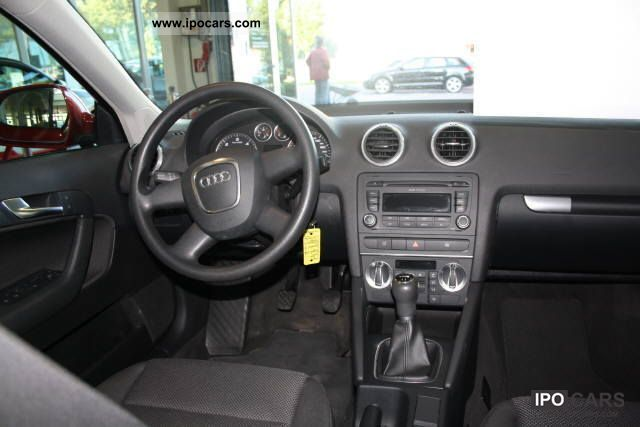 2009 audi a3 sportback 1 9 tdi e dpf 77 105 k car photo and specs. Black Bedroom Furniture Sets. Home Design Ideas