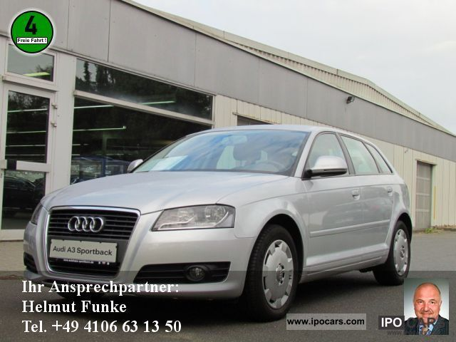 2009 Audi  A3 Sportback 1.9 TDI DPF Attraction AIR Limousine Used vehicle photo