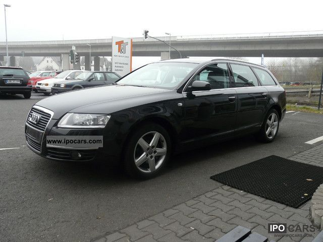 2007 audi a6 avant 3 0 tdi multitronic quattro car photo and specs. Black Bedroom Furniture Sets. Home Design Ideas