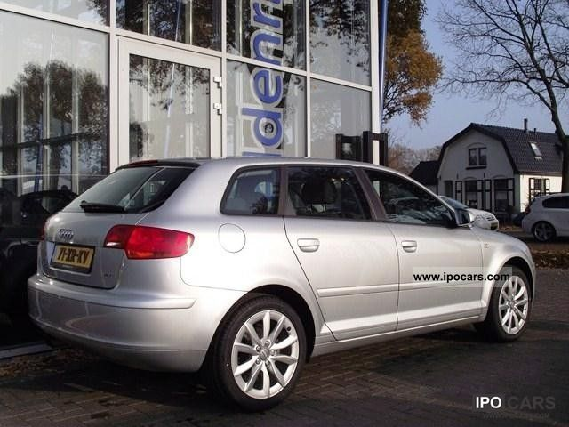 2007 audi a3 sportback 1 8tfsi proline car photo and specs. Black Bedroom Furniture Sets. Home Design Ideas