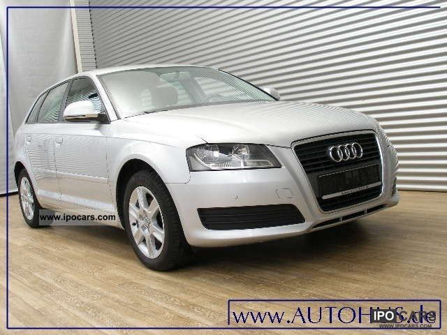 2009 audi a3 sportback 2 0 tdi s tronic attraction car photo and specs. Black Bedroom Furniture Sets. Home Design Ideas