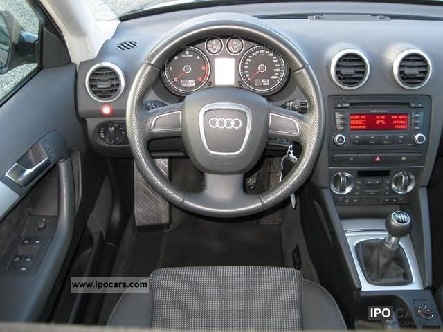 2008 Audi A3 Sportback 2 0 Tdi Ambition Driving School Car Car Photo And Specs