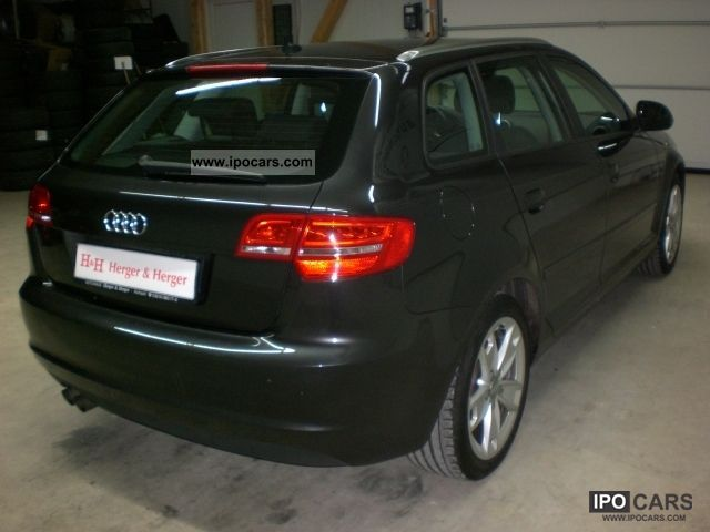 2008 audi a3 2 0 tdi sportback dpf ambition my09 nav 17 car photo and specs. Black Bedroom Furniture Sets. Home Design Ideas