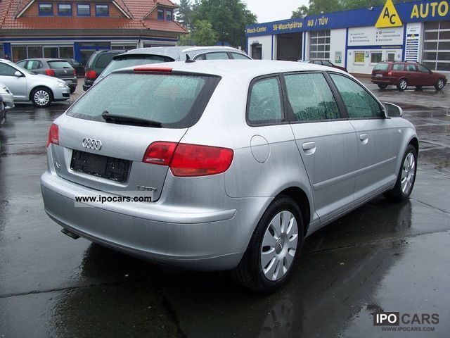2007 audi a3 sportback 1 9 tdi dpf car photo and specs. Black Bedroom Furniture Sets. Home Design Ideas