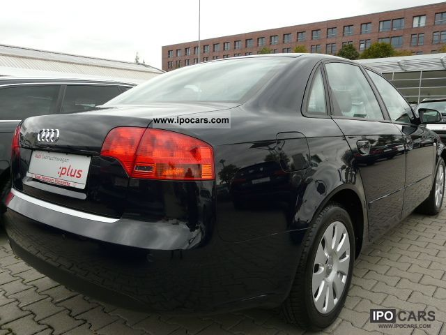 2007 audi a4 2 0 ahk xenon car photo and specs. Black Bedroom Furniture Sets. Home Design Ideas