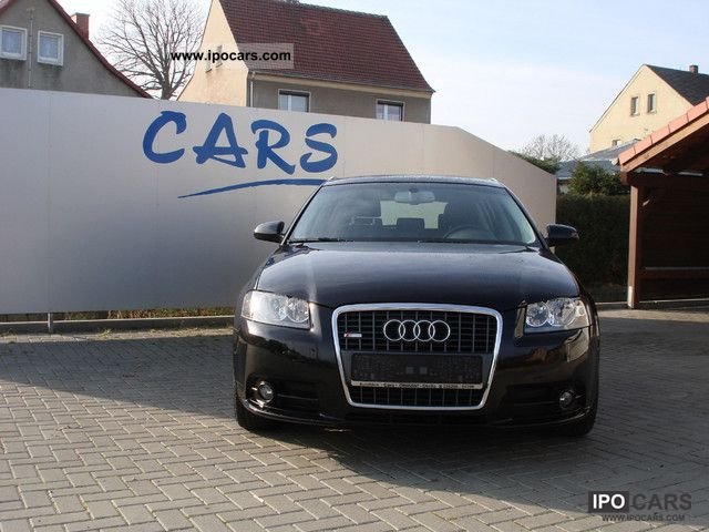2007 Audi  A3 2.0 TDI Sportback S Line DPF environment Estate Car Used vehicle photo