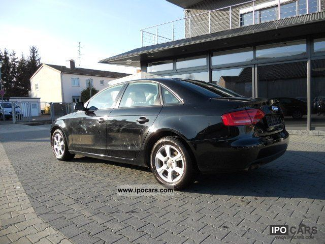 2009 audi a4 2 0 tdi attraction car photo and specs. Black Bedroom Furniture Sets. Home Design Ideas
