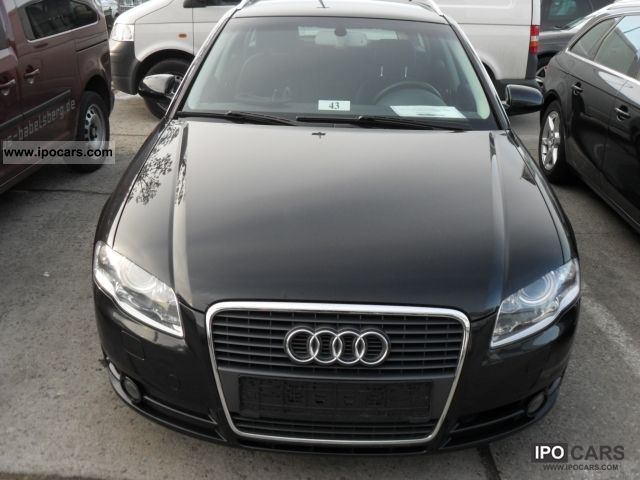 2007 audi a4 avant 2 0 tdi dpf navi xenon car photo. Black Bedroom Furniture Sets. Home Design Ideas