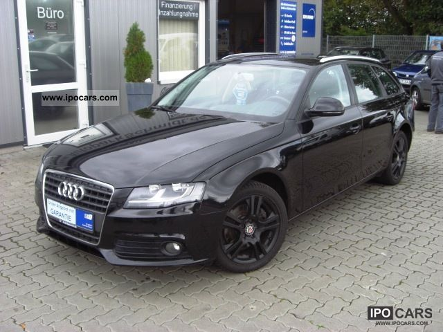 2009 audi a4 avant 2 0 tdi ambiente air car photo and. Black Bedroom Furniture Sets. Home Design Ideas