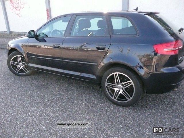 2009 Audi  A3 Sportback 1.9 TDI DPF Amb 17 \ Estate Car Used vehicle photo