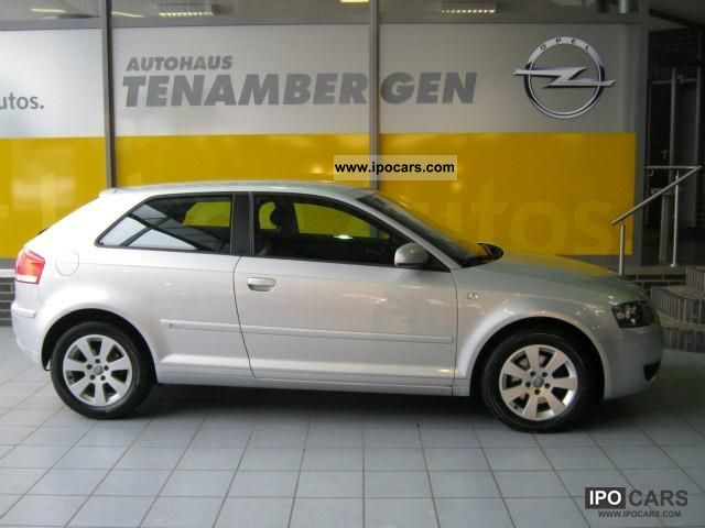2004 Audi  A3 2.0 FSI Attraction, cruise control, climate control Small Car Used vehicle photo