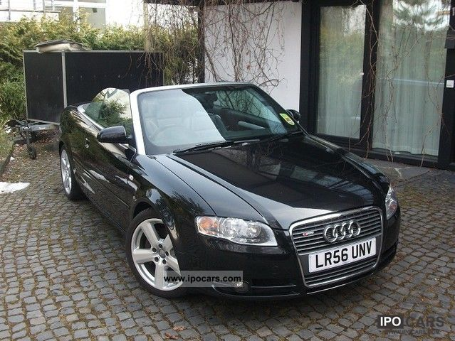 2006 audi a4 cabriolet 2 0 tfsi s line rhd facelift 1. Black Bedroom Furniture Sets. Home Design Ideas