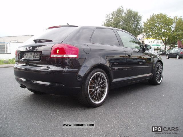 2006 audi a3 2 0 tdi s line checkbook navi plus car photo and specs. Black Bedroom Furniture Sets. Home Design Ideas
