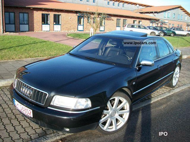2002 Audi  S8 4.2 quattro / Navi Plus / XENON PLUS / gas system / Limousine Used vehicle photo