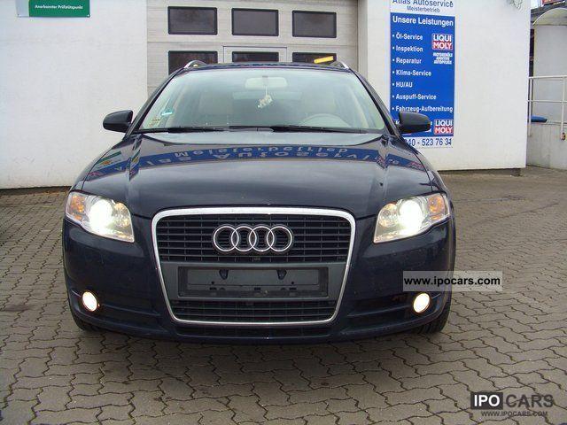 2006 Audi  A4 2.0 TDI Leather + Navi + Bi-Xenon + BOSE! Chromre Estate Car Used vehicle photo
