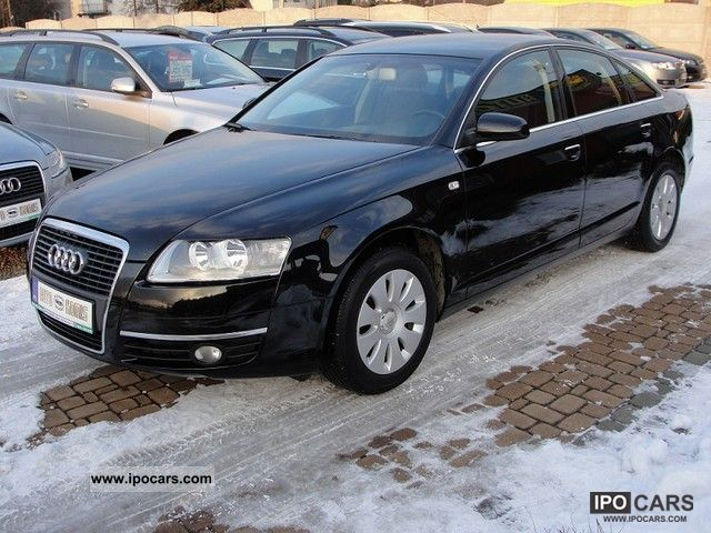 2007 audi a6 tdi 140 km car photo and specs. Black Bedroom Furniture Sets. Home Design Ideas