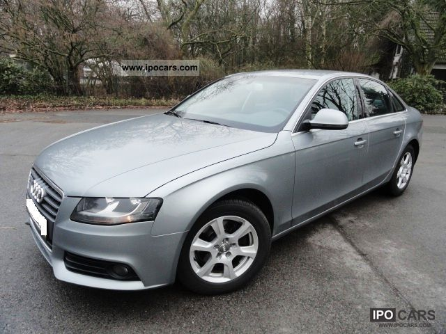2008 Audi  A4 2.0 TDI / NAVI COLOUR DISPLAY / LEATHER / PDC Limousine Used vehicle photo