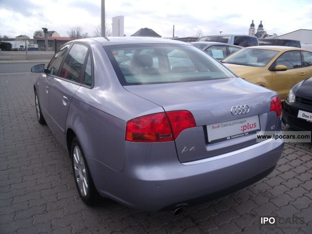 2005 audi a4 saloon 2 0 car photo and specs