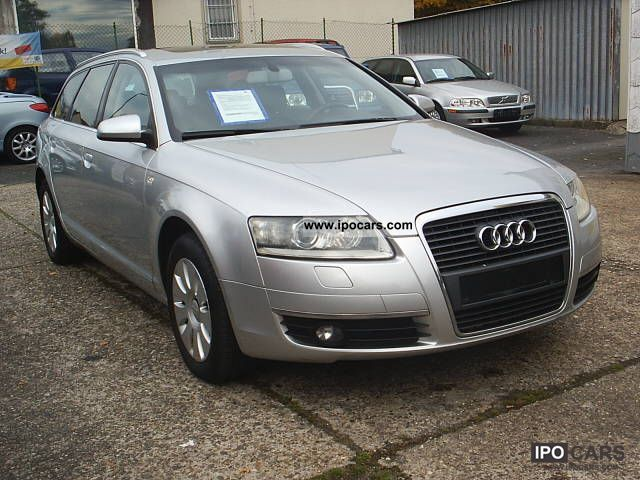 2006 audi a6 avant 2 0 tfsi automatic leather navi xenon ssd car photo and specs. Black Bedroom Furniture Sets. Home Design Ideas