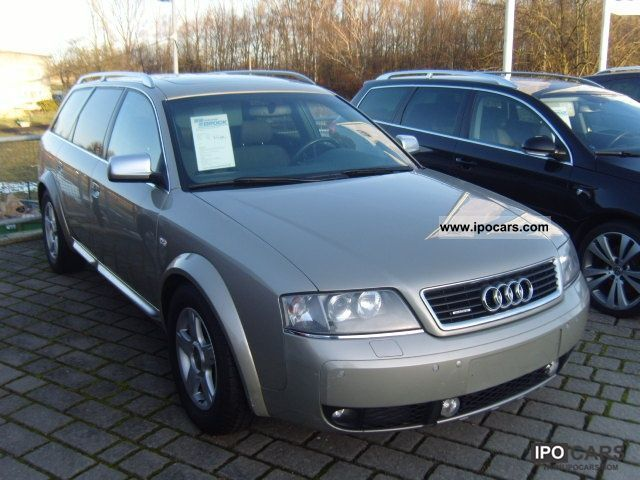 2004 audi allroad quattro a6 2 7 tiptronic car photo and. Black Bedroom Furniture Sets. Home Design Ideas