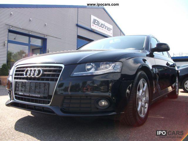 Audi a4 avant 2008 mpg 16