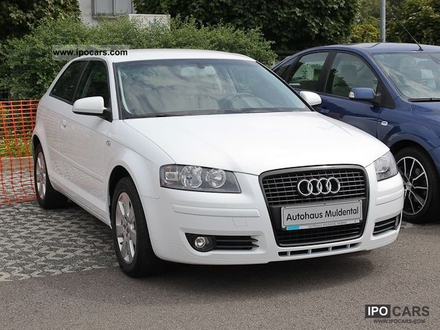 2007 audi a3 ambiente 1 6 automatik climatronic alu shz car photo and specs. Black Bedroom Furniture Sets. Home Design Ideas