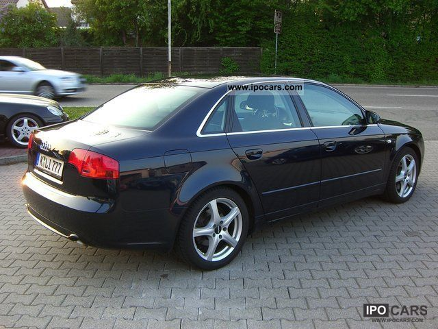 2007 Audi A4 3 0 Tdi Quattro Dpf Car Photo And Specs