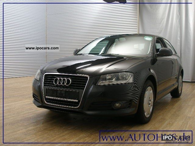 2010 Audi  A3 1.9 TDI Klimaaut cruise Limousine Used vehicle photo